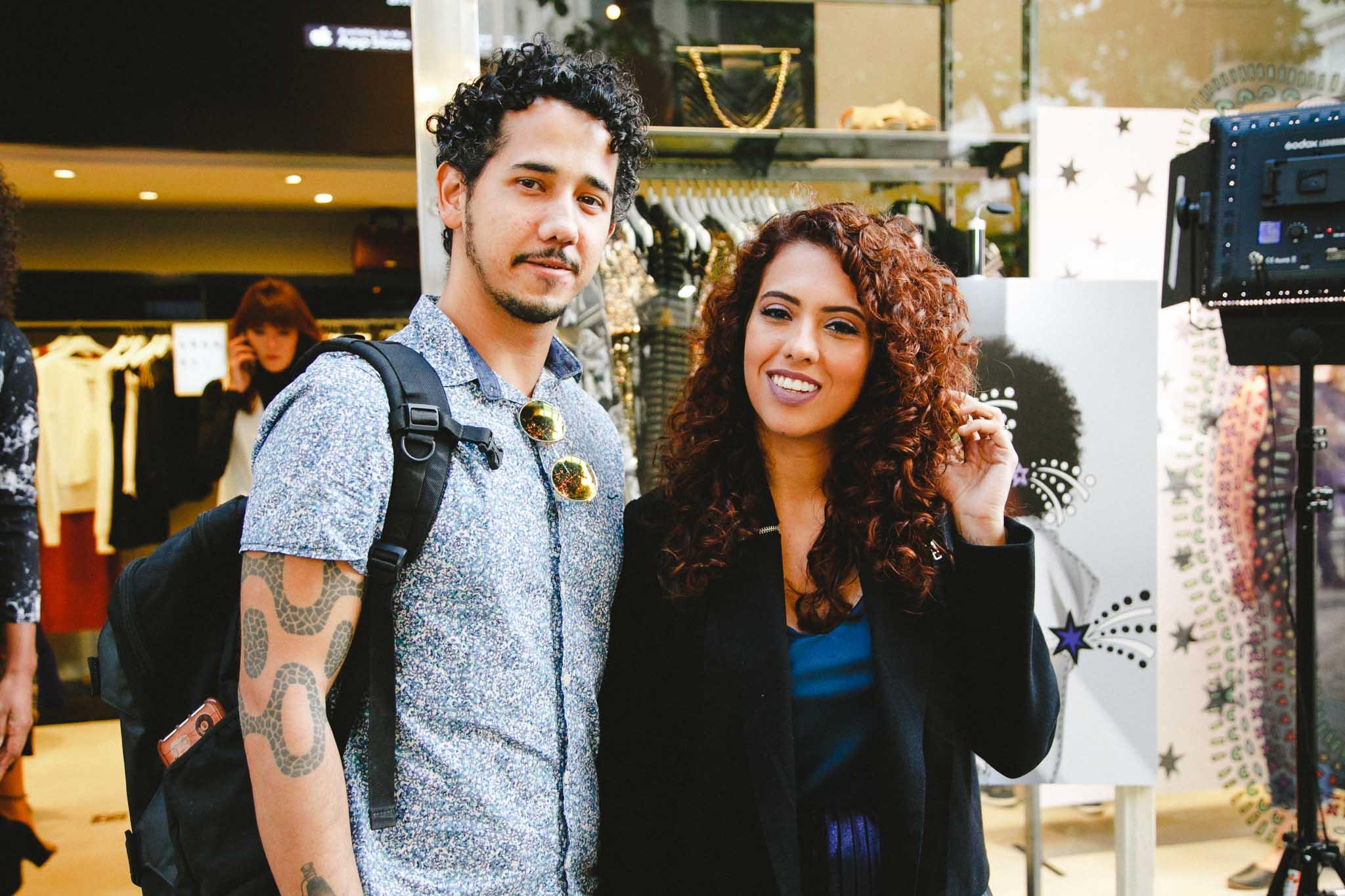 Vitor Fernandes e Carla Lemos