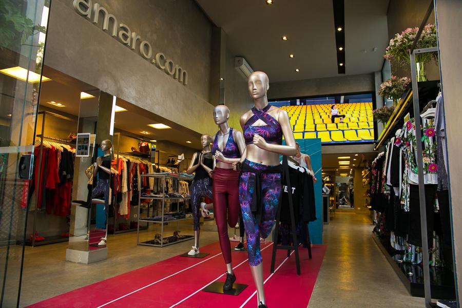 A nossa nova coleção de Active já está em todos os AMARO Guide Shops