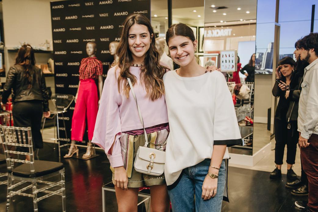 Amanda Cassou e Roberta Almeida