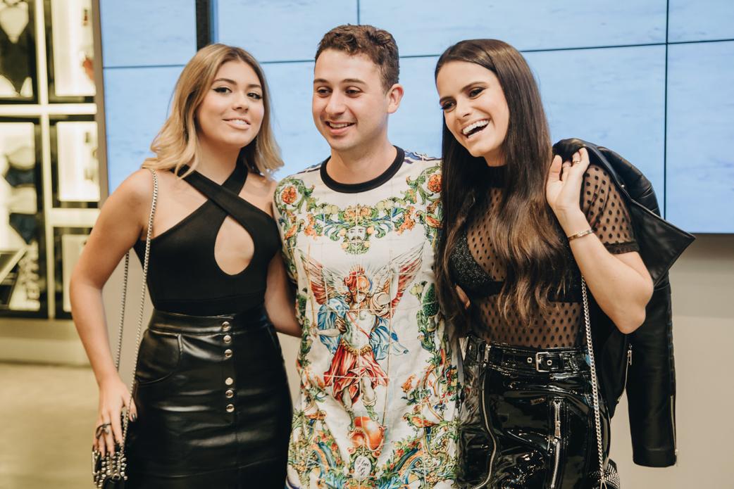 Valentina Taques, Juan Moraes e Alexia Taques