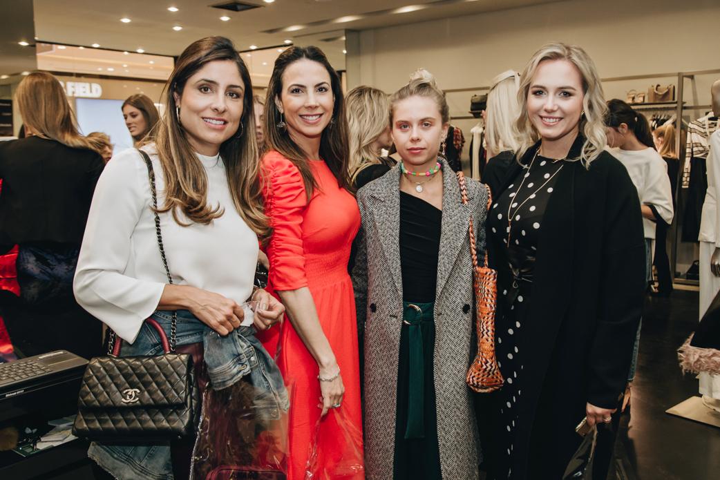 Nicole Hauer, Roberta Damiani, Carolina Rocha Lores e Fernanda Borio