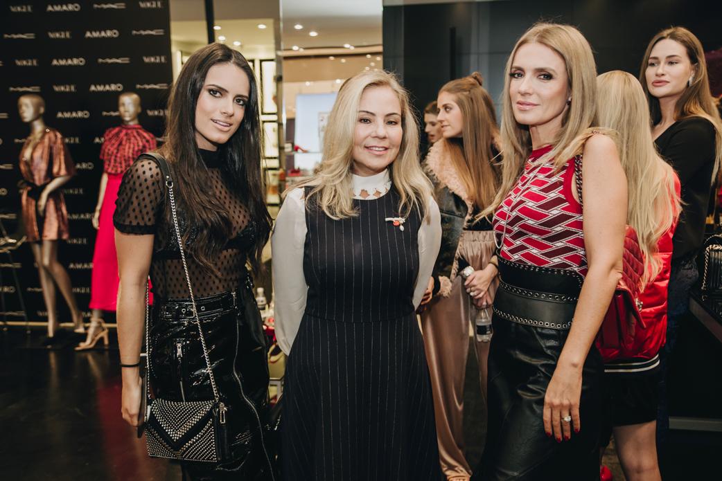 Alexia Taques, Cristina Natli e Vanessa Taques