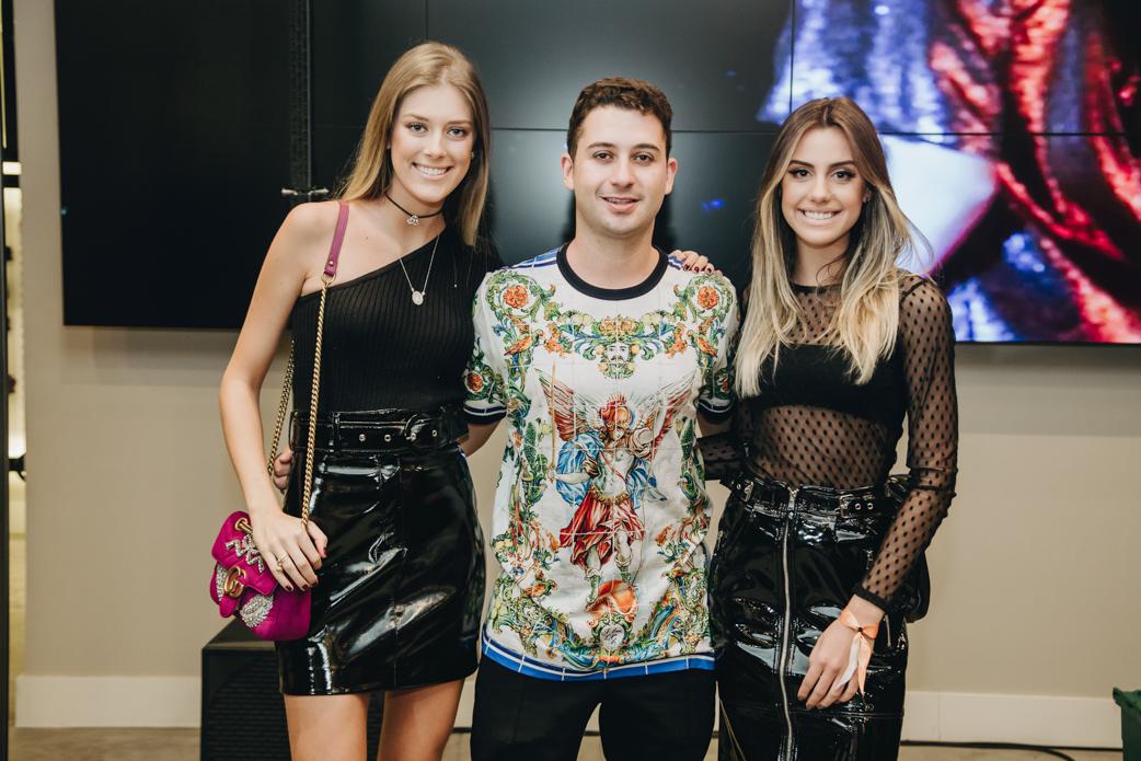 Isadora Taques, Juan Moraes e Sophia Poplawsk