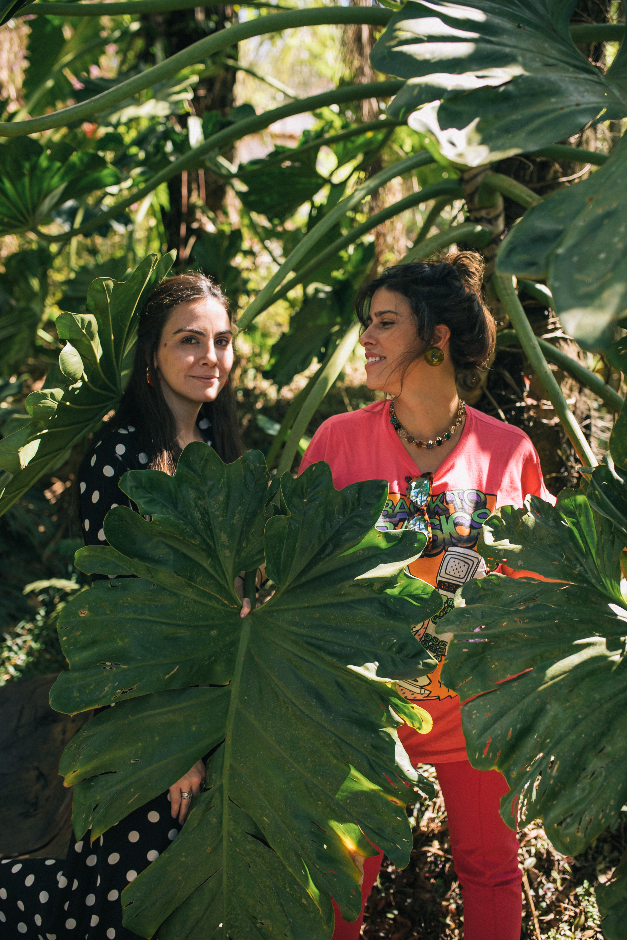 Camila Assreuy e Nathalia Abi-Ackel