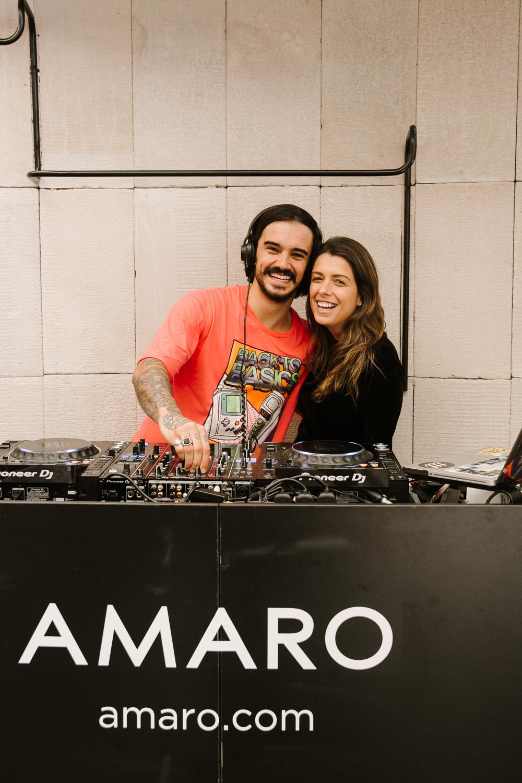 Daniel Vasconcellos e Dani Madureira