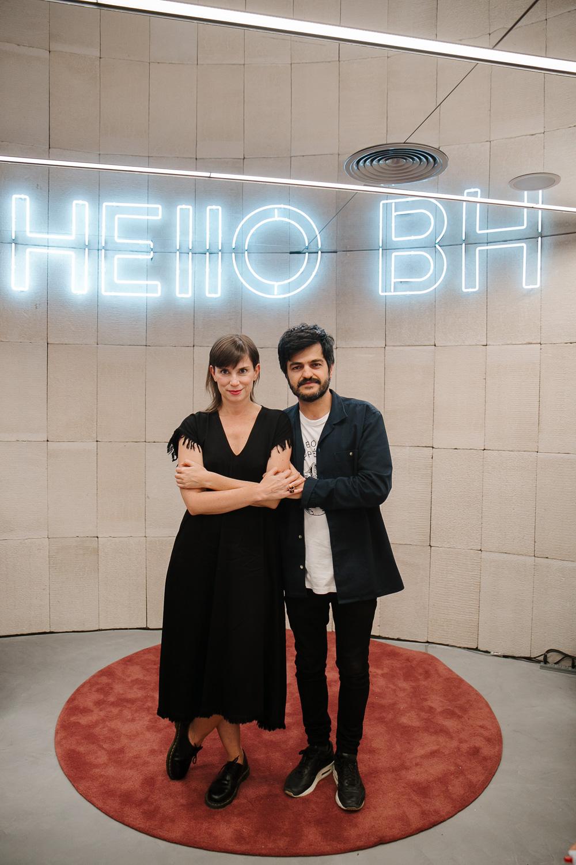 Juliana Figueiró e Marcelo Alvarenga