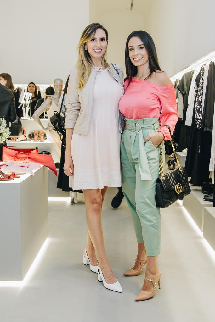 Rafaelle Ruhle e Camila Amaral