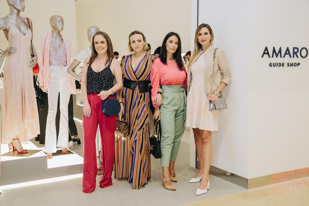 Dani Machado, Camila Amaral, Rafaelle Ruhle, Roberta Busato