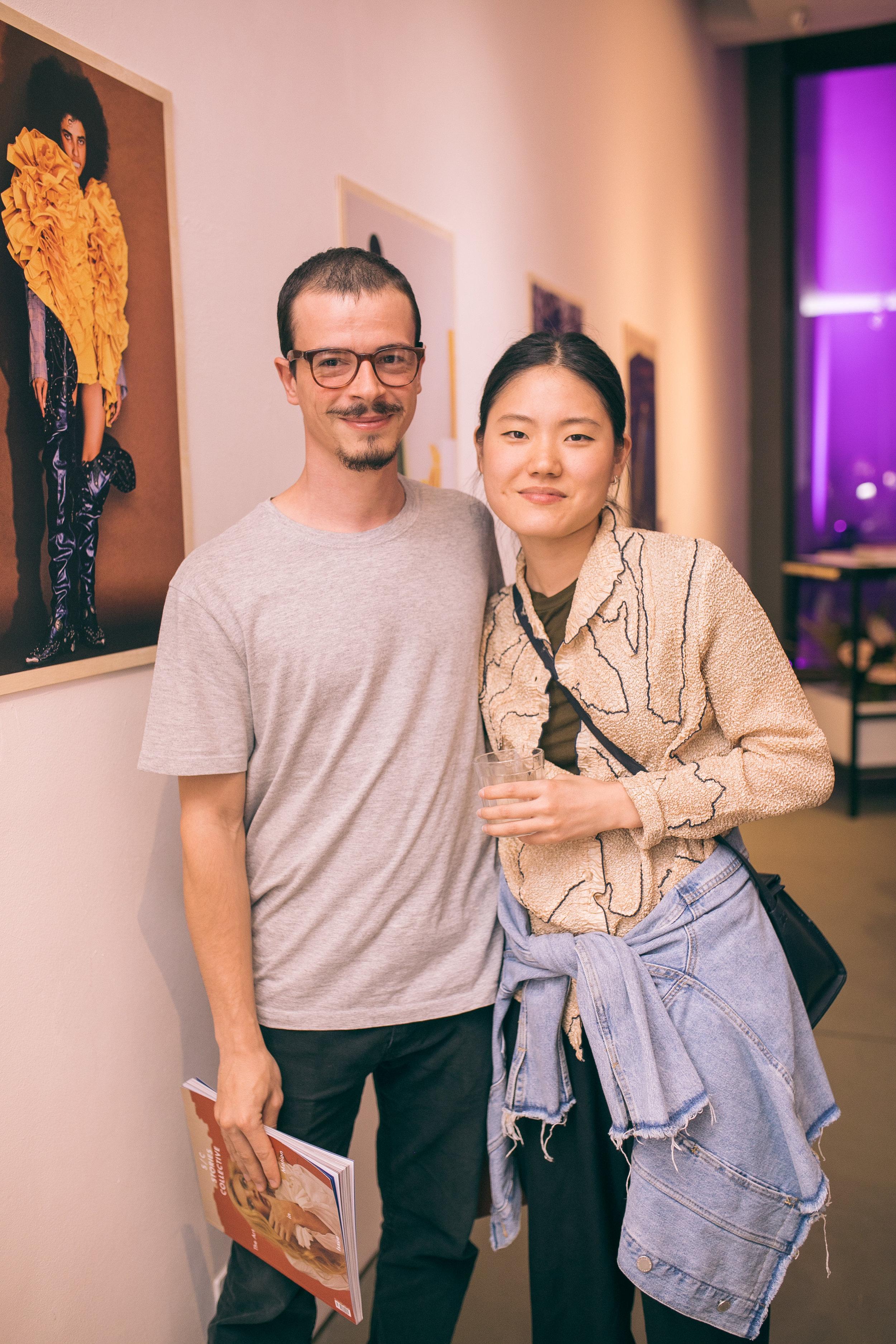 Marcelo Boni e Julia Park