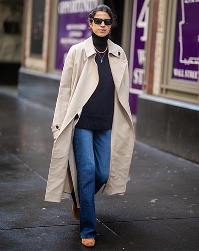 Quando o look básico precisa de um toque de estilo? Vá de sobretudo!