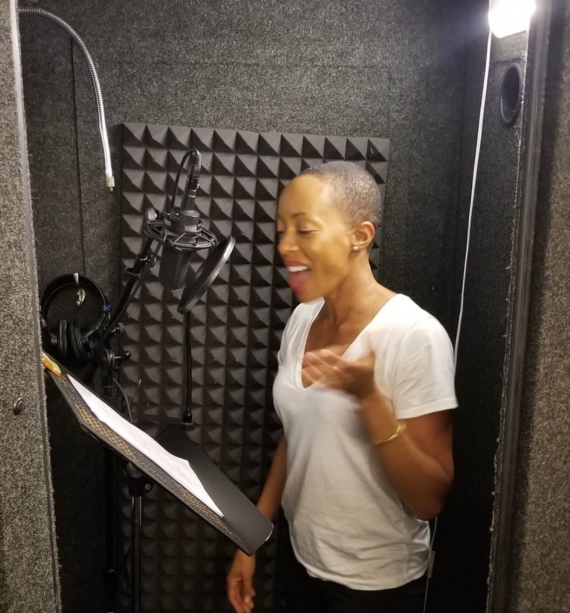 Andia Winslow  - Voiceover