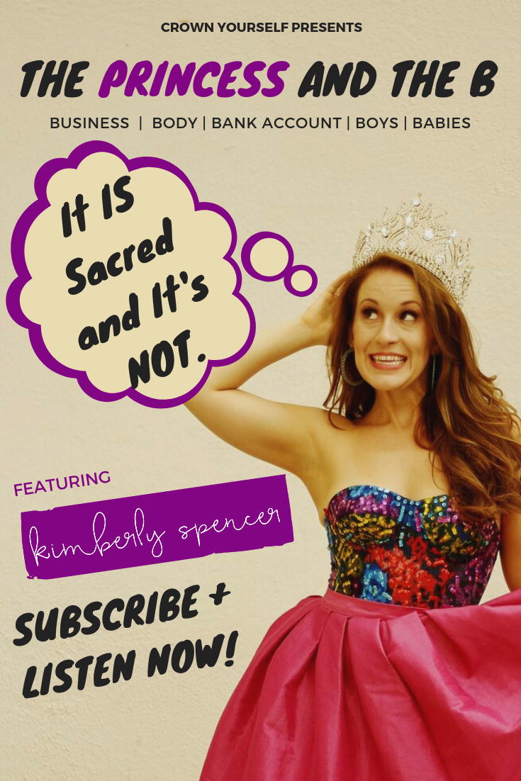 Ep.20 -  It IS Sacred and It's NOT. _ The Princess and the B Podcast - Pinterest.png
