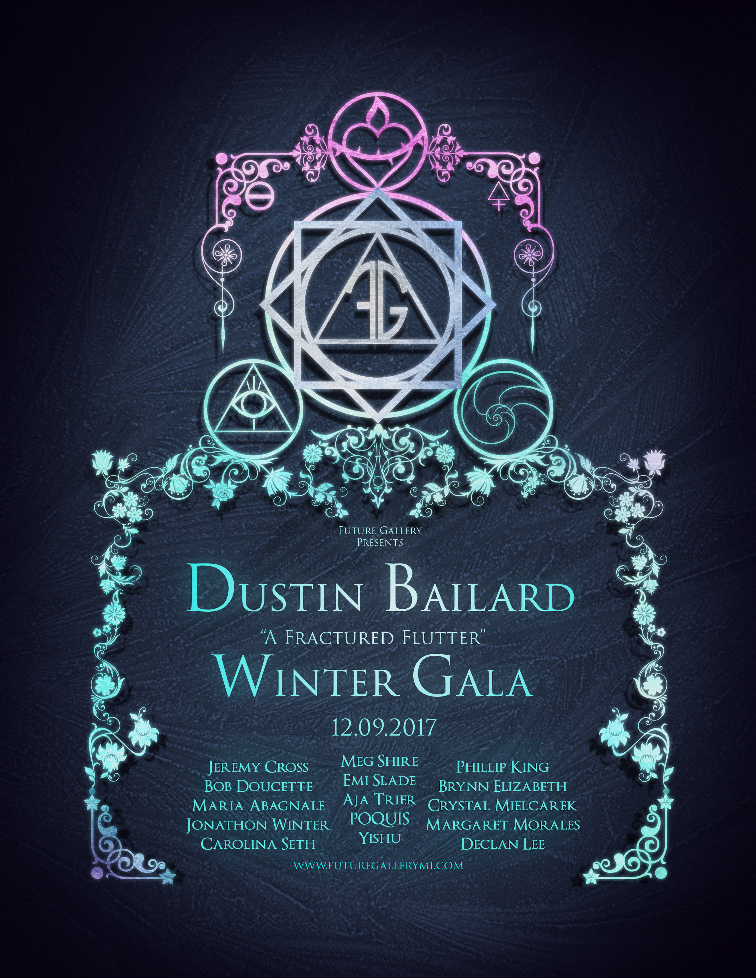 A Fracture Flutter - by Dustin Bailard We are ending this year with one of the most anticipated and extraordinary Solo events of our gallery: