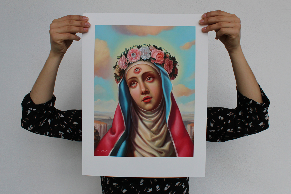 SAINT ROSE  high quality Giclee print - Limited Edition of 20 - Available  7/18/19   Noon EST