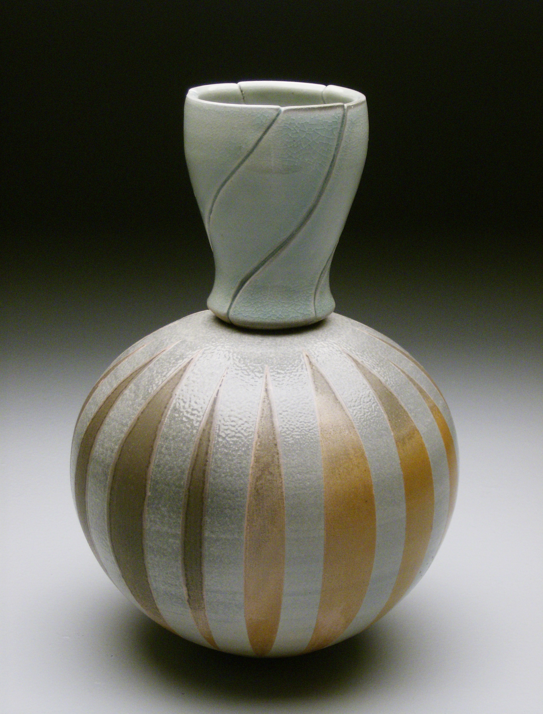Compound Melon Vase