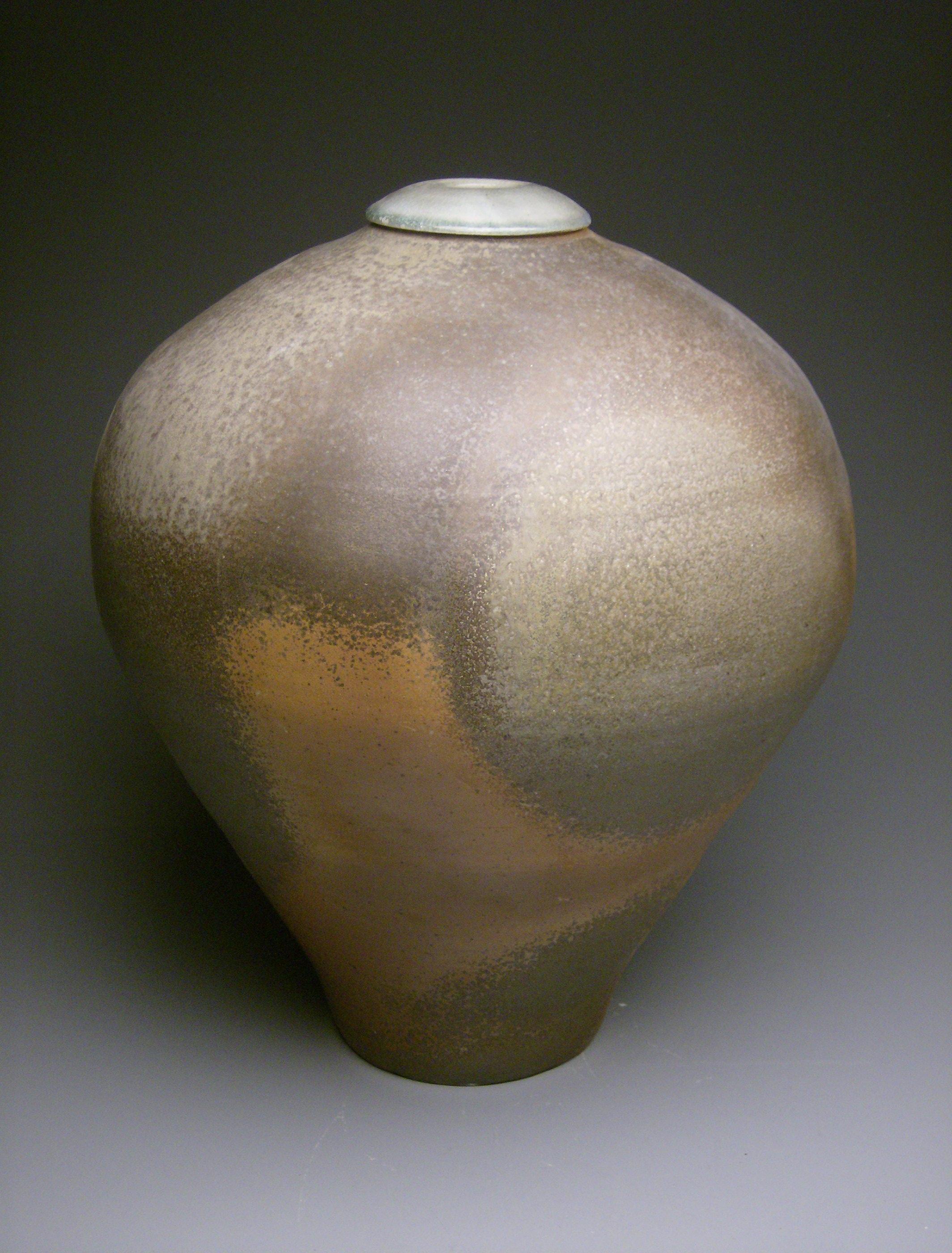 Flashed Stoneware Vase