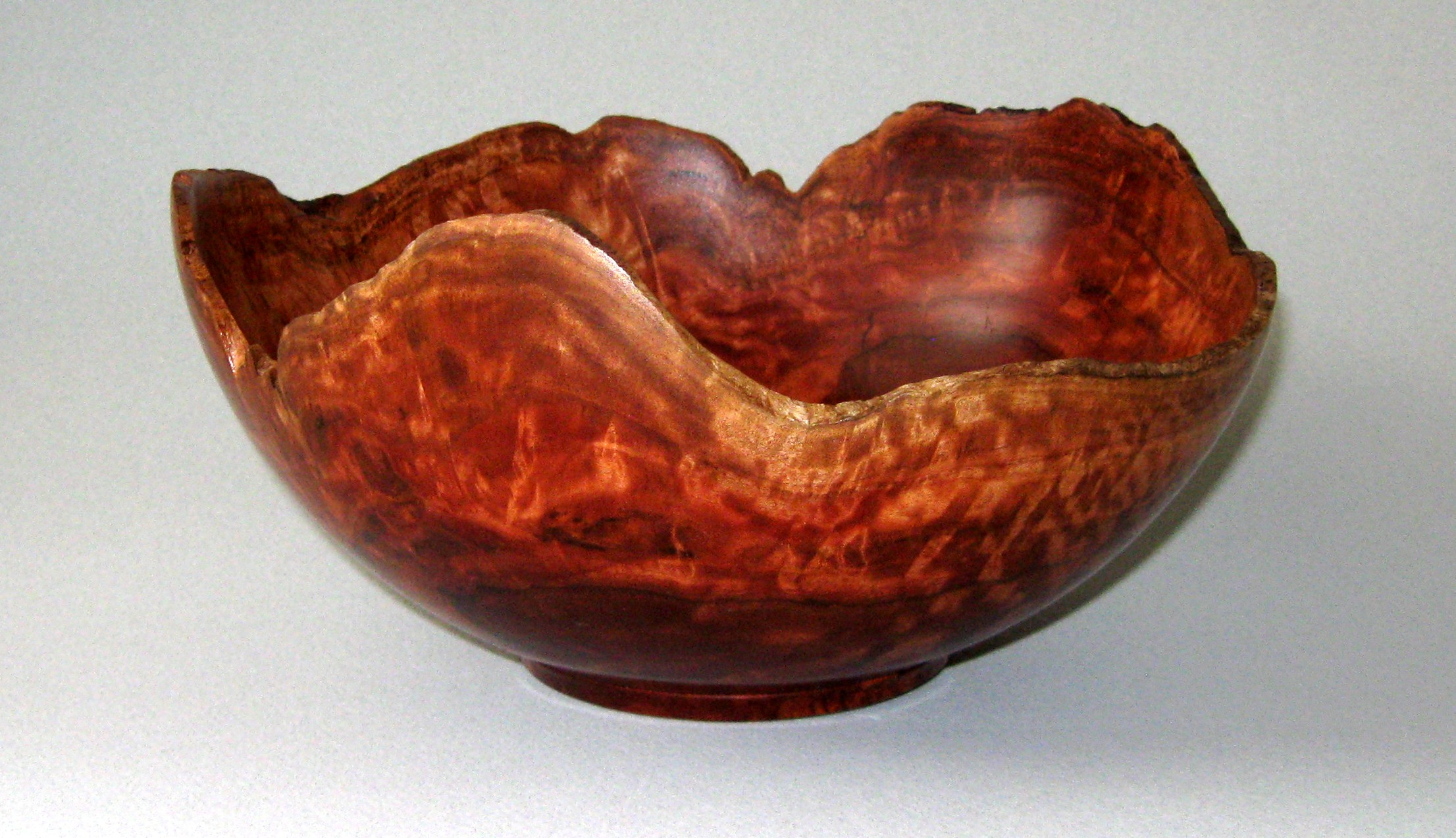 Natural edge Eucalyptus bowl