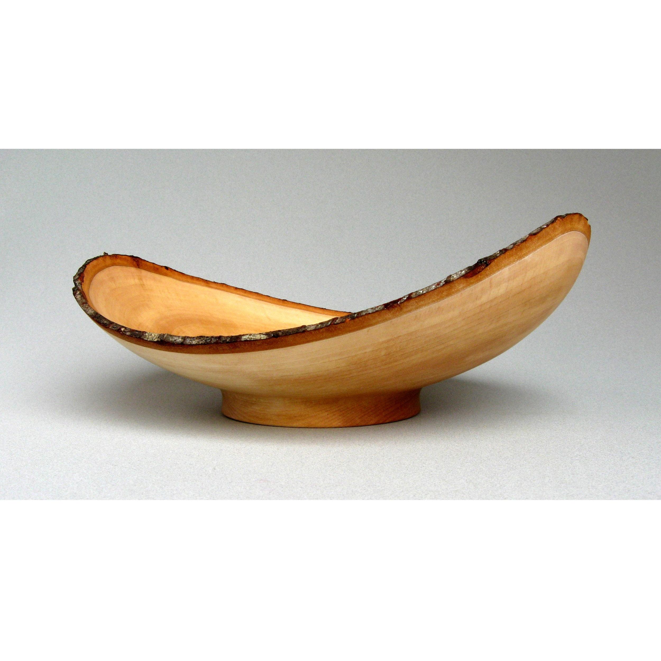 Cherry natural edge bowl