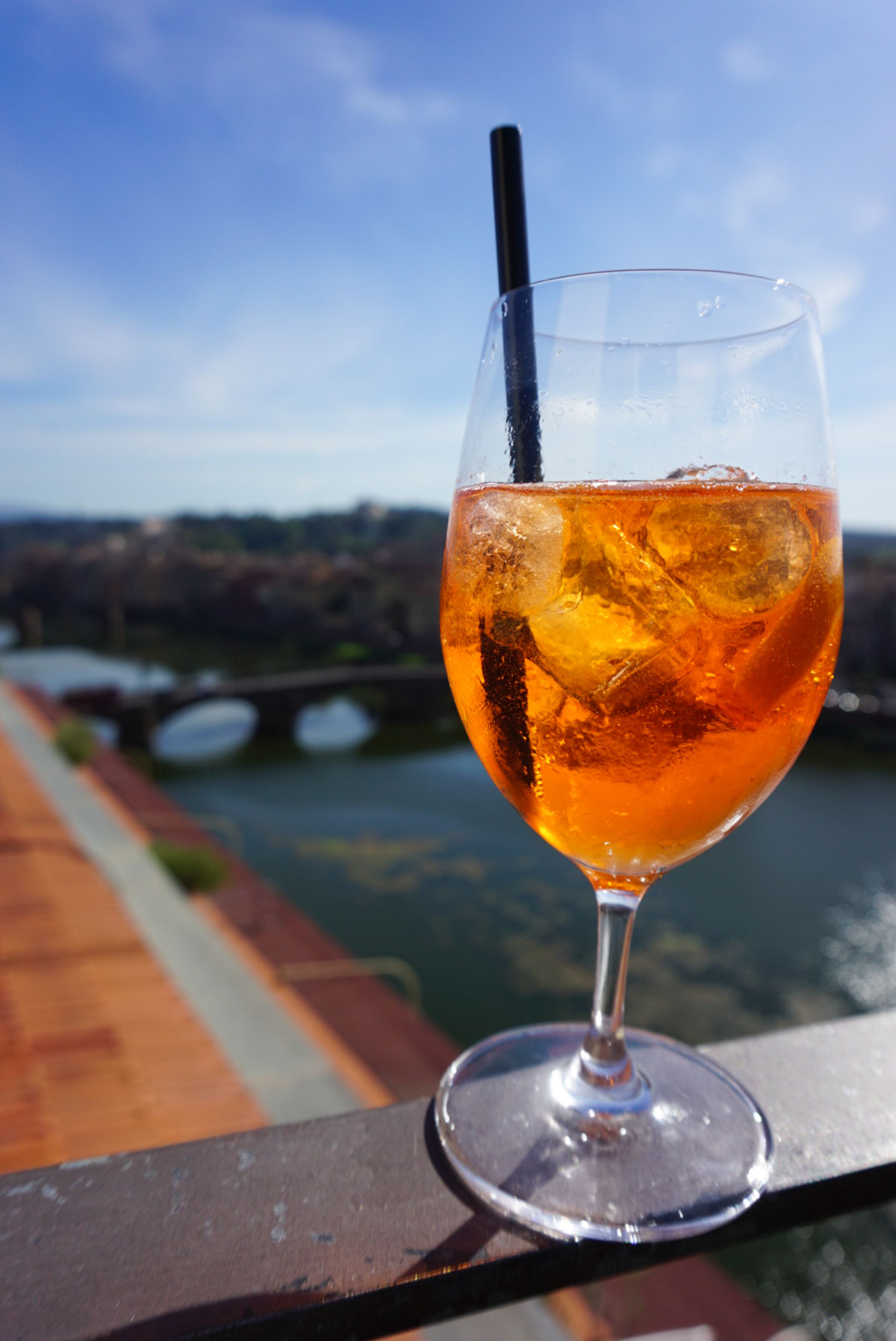 Aperol Spritz at the Westin Excelsior, Florence, Italy