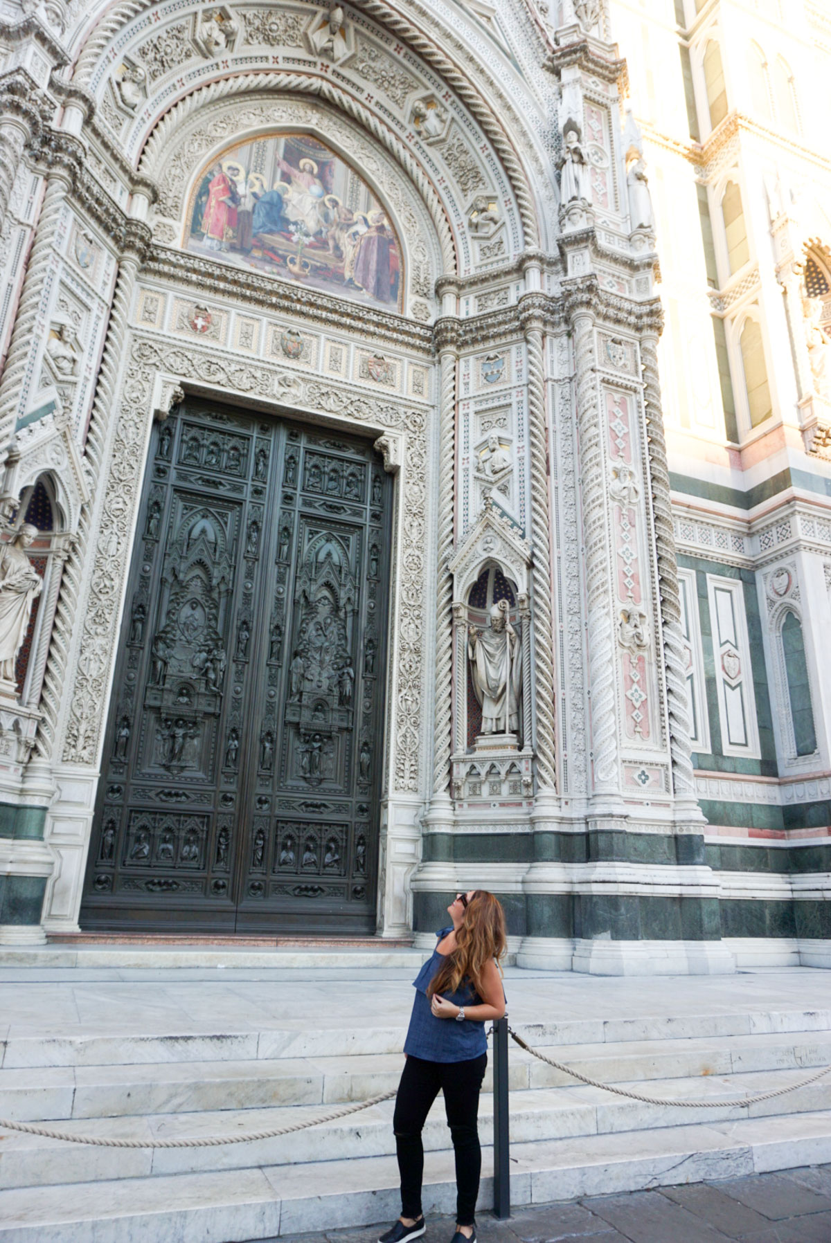 The Duomo, The Cathedral of Santa Maria del Fiore in Florence, Italy