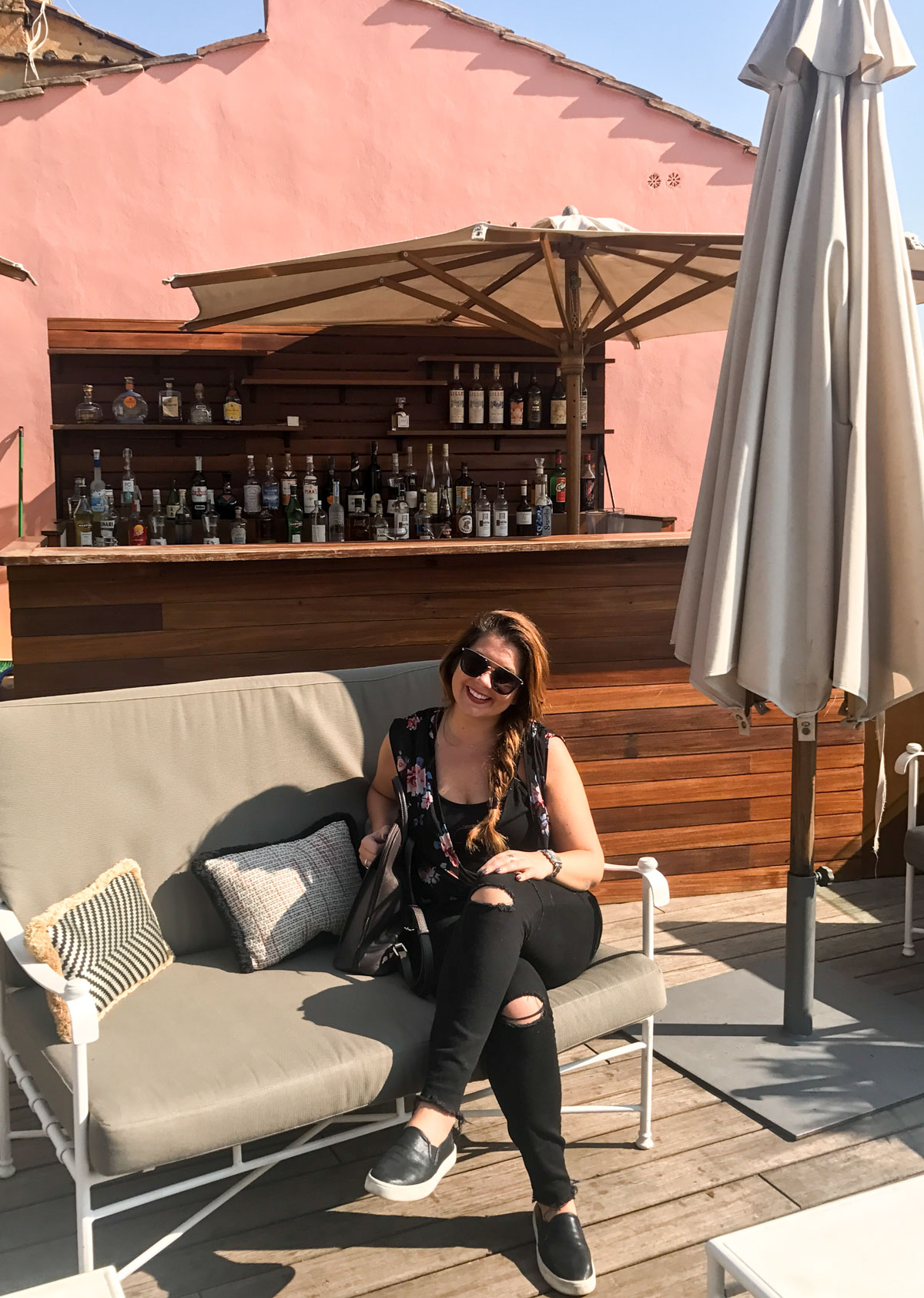 Rooftop Bar at The Domo in Rome, Italy