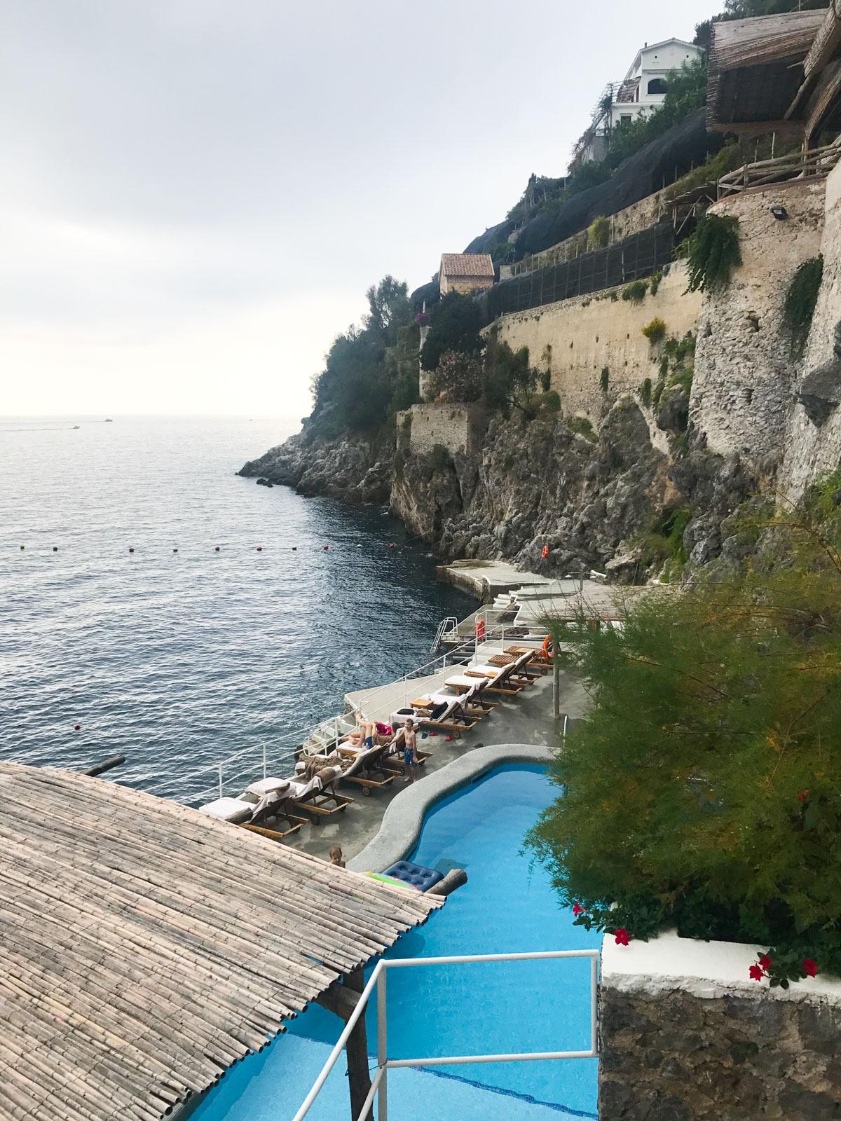 Amazing Pool at  Santa Caterina , Amalfi