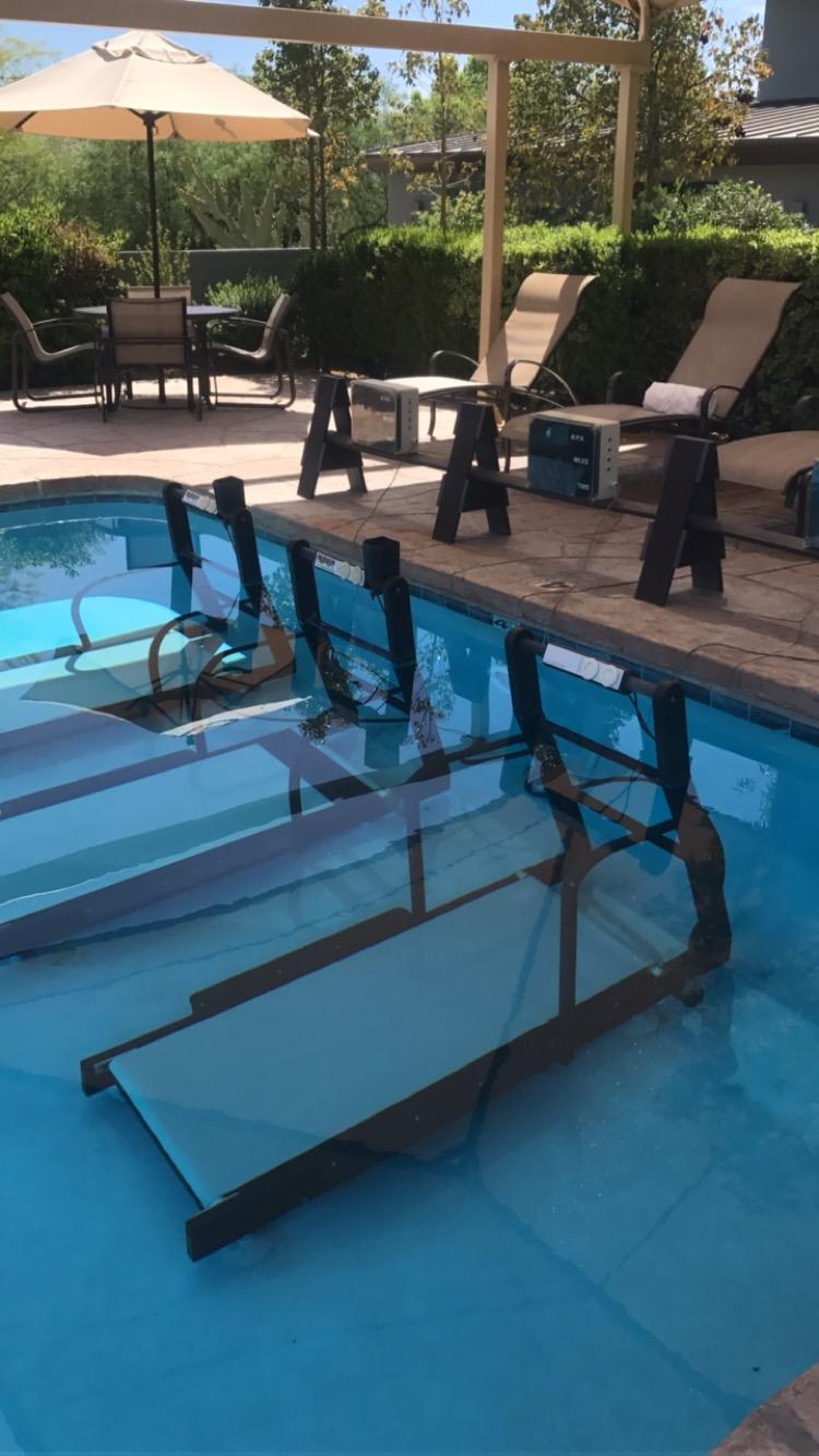 Underwater Treadmills!