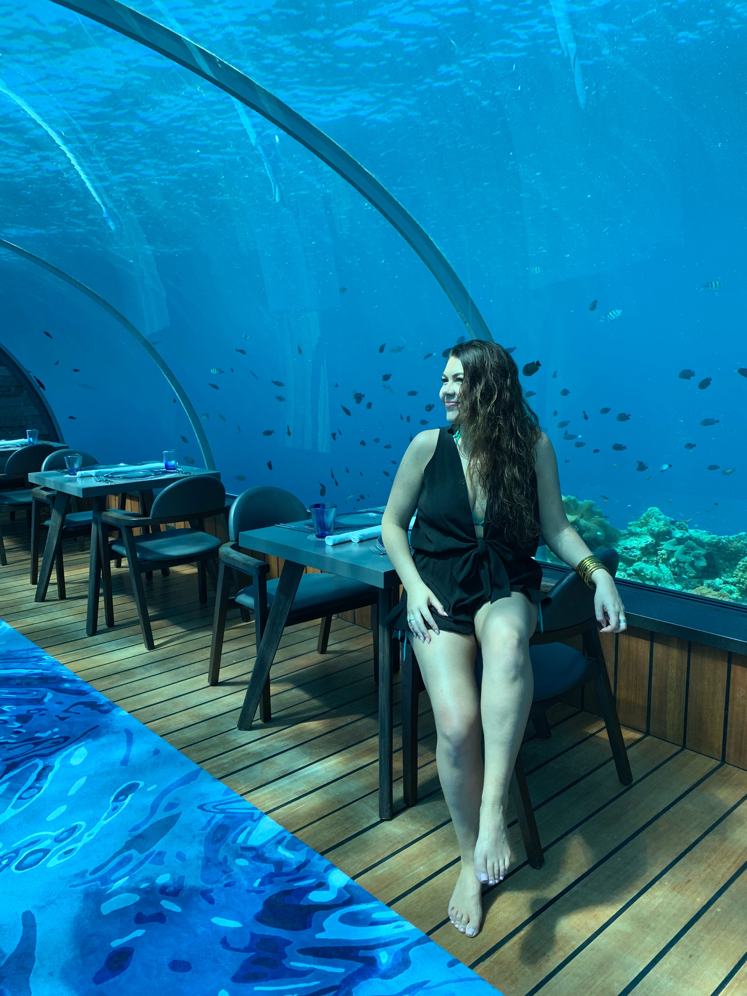 5.8 Underwater Dining at Hurawalhi