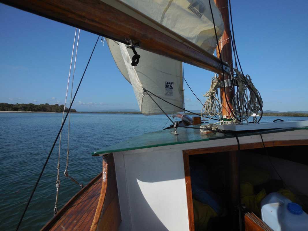 Greenshank sailing
