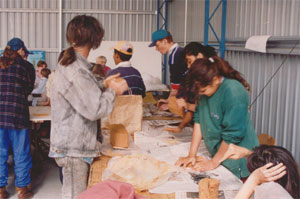 Copeton Arts Camp, Australia Council for the Arts funded 1993