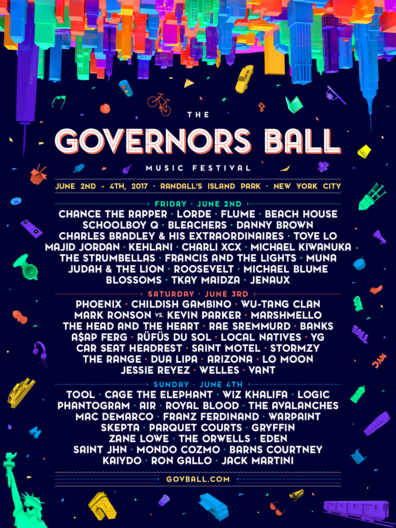 Governors Ball Music Fest 2017