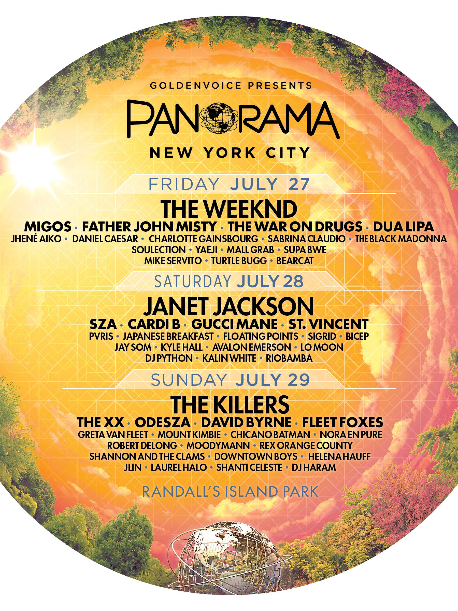 Panorama Music Festival 2018