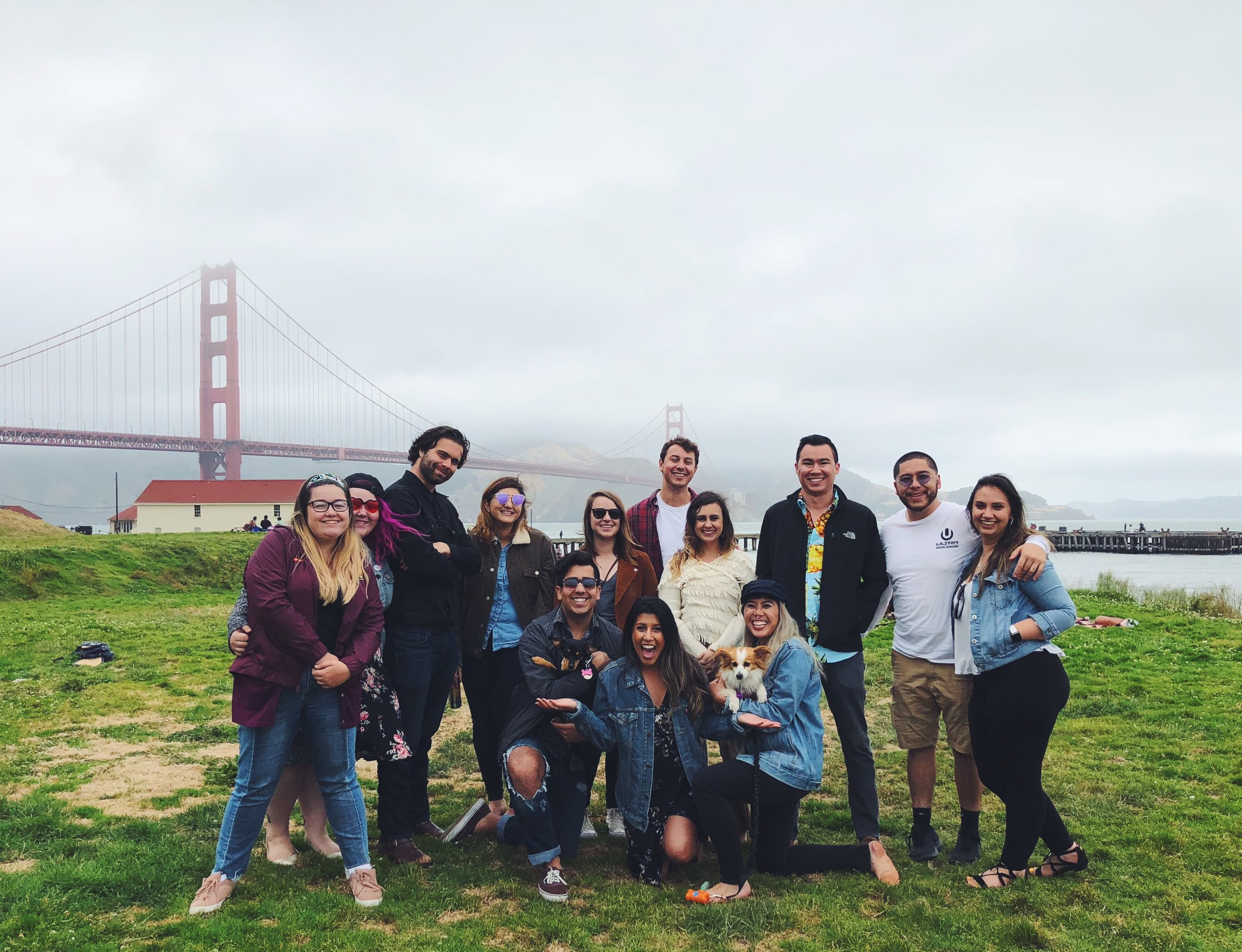 Before Kastania's Big Move, we hosted a Summer Solstice Potluck Party with our friends at Crissy Field near the Golden Gate Bridge.