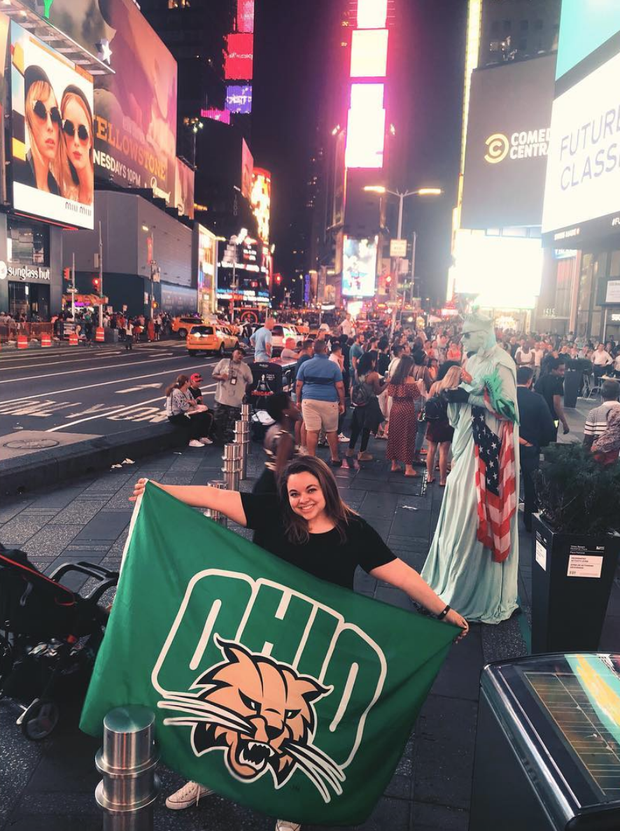 Welcome! - My name is Emily O'Flynn. Recently, I graduated from Ohio University with a B.S. in Journalism: Strategic Communication. Take some time and explore my website. Learn a little about me and please reach out if you have any questions about my work.  I'd love to be your next connection!