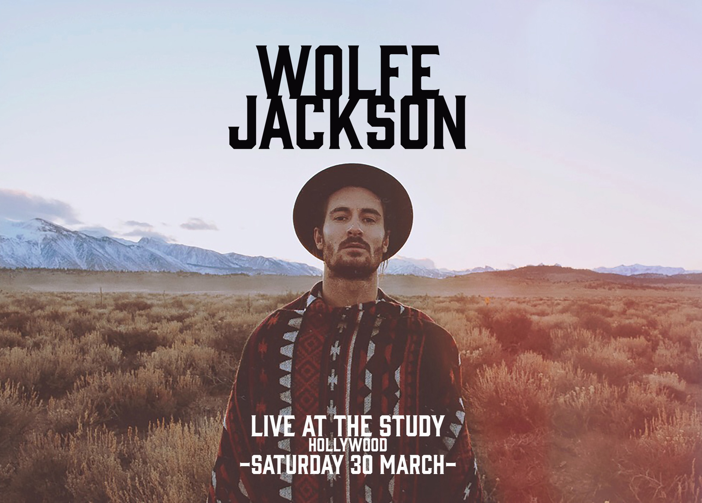 WOLFE JACKSON - LIVE @ THE STUDY, HOLLYWOOD - MARCH 30, 2019