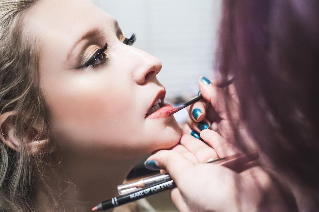 Make-Up for Mock Wedding