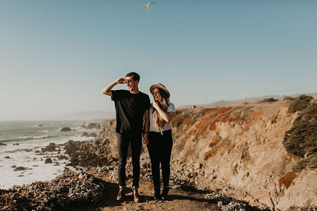 Got to hang out with these two cuties juuuuust before taking off to Sayulita! We spent the day hiking around Bodega Bay waiting for the sunset. Can't wait for their wedding in August! 😍