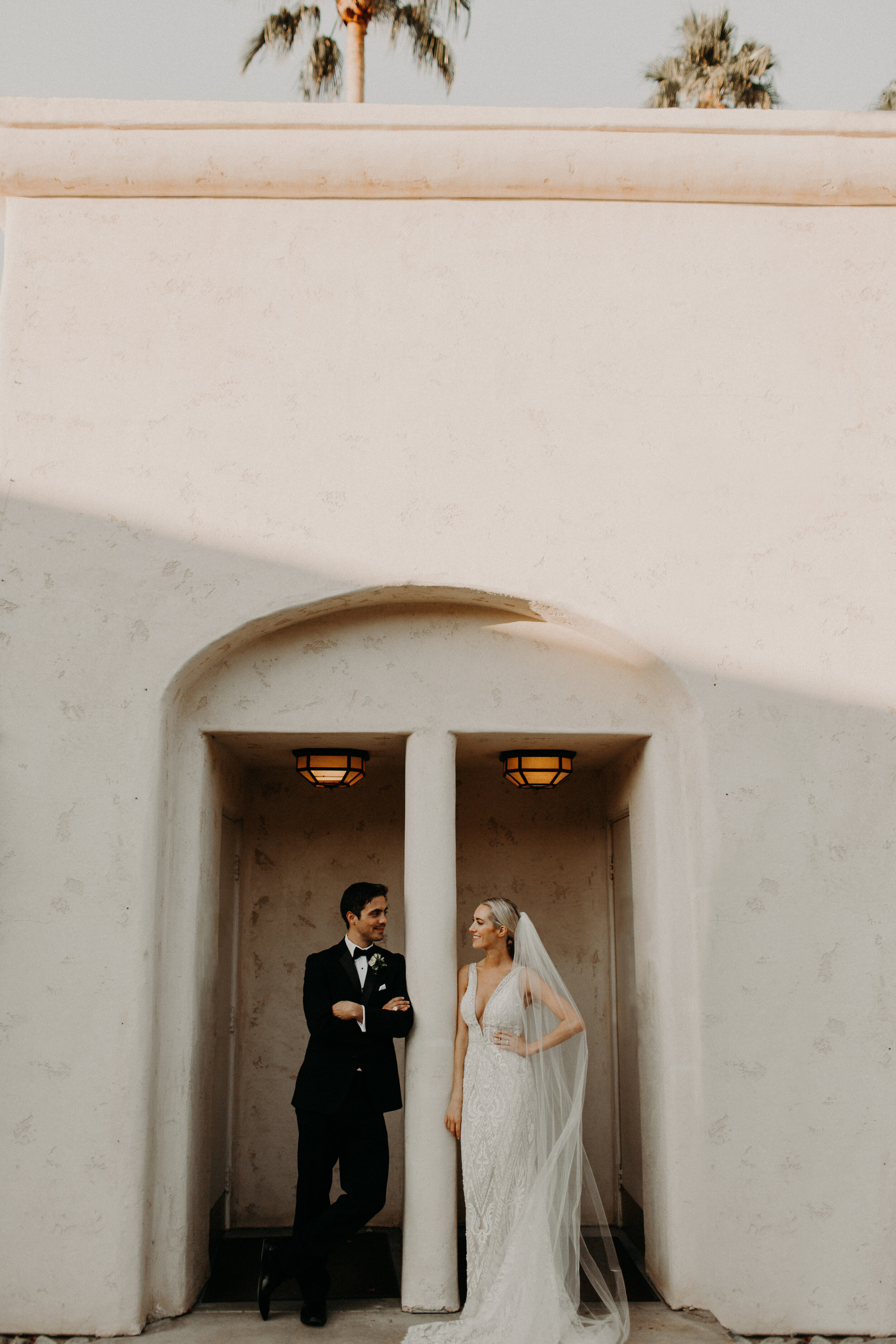 Morocco-Inspired Palm Springs Destination Wedding - Sam + Eddie are KNOCKOUTS. They hail from chilly Vancouver, BC and decided to have the desert wedding of their dreams at Miramonte Resort in Indian Wells, California.