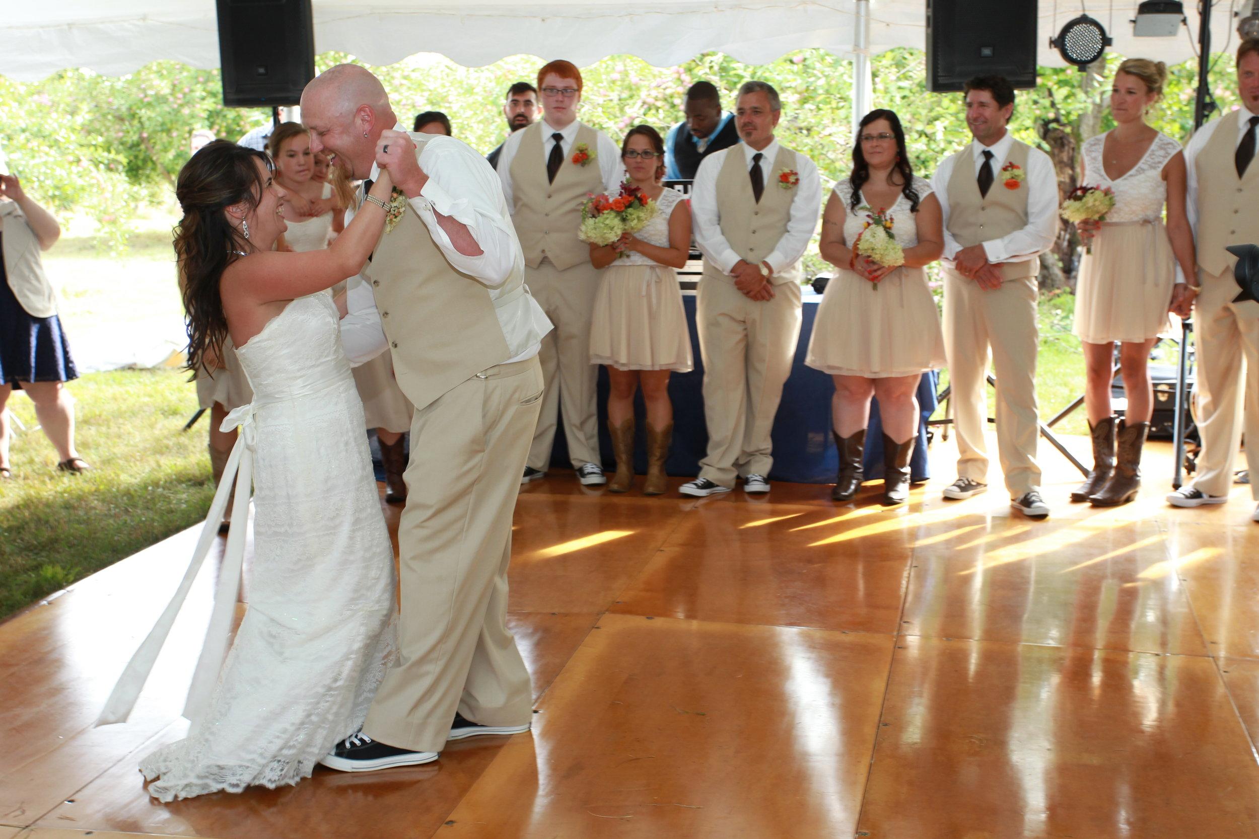 awesome wedding photographer in gilford nh