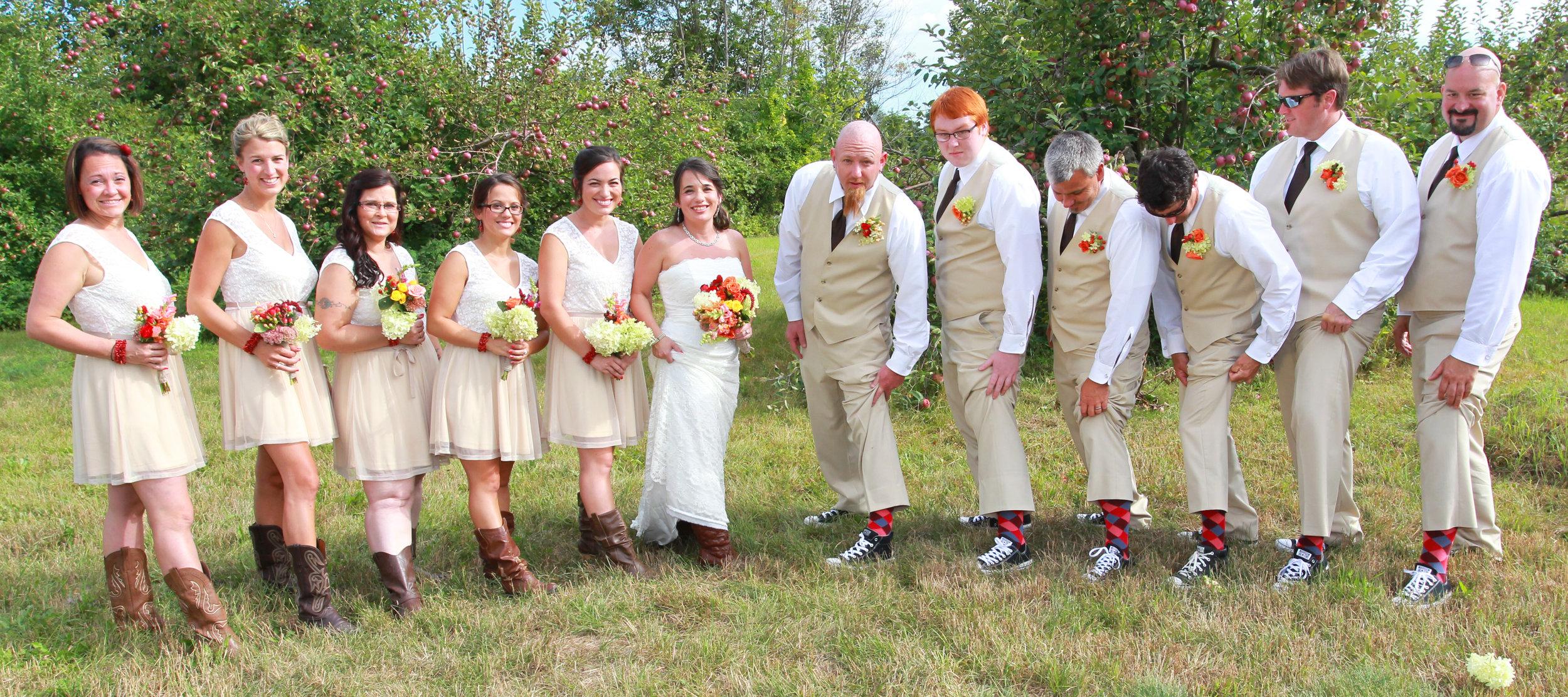 winnepesaukee wedding photography