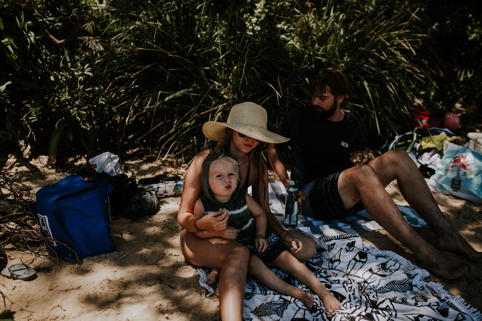 family holiday honeymoon bay