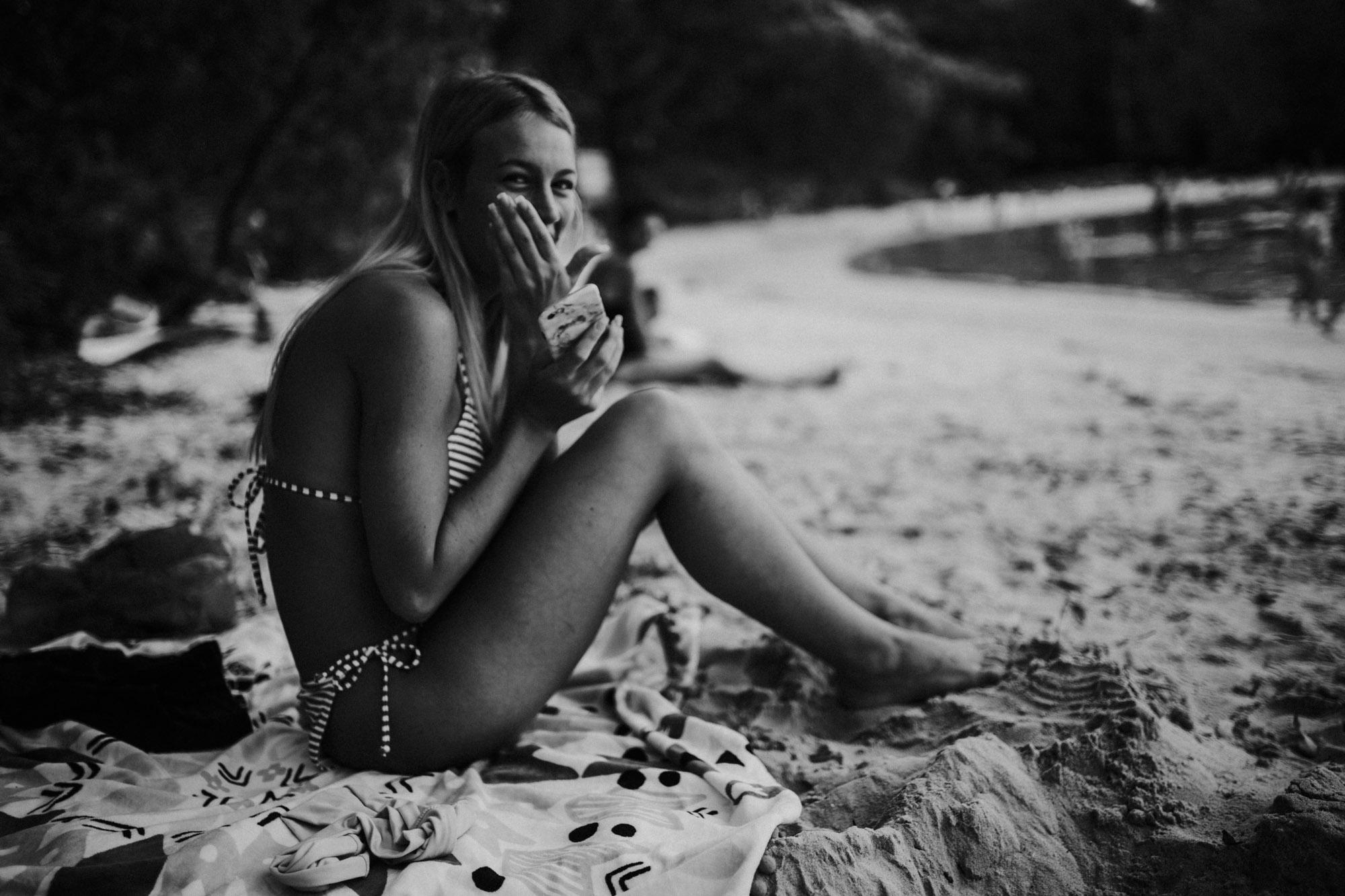 Honeymoon Bay South Coast Family Photographer