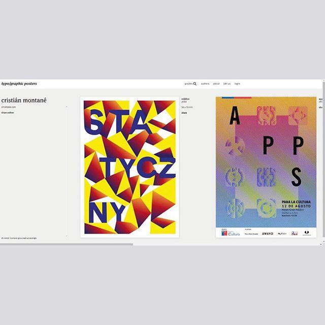 Al fin soy parte de la comunidad de typo/graphic posters. Lo cual me hace muy feliz porque mi trabajo va a estar al lado de puros capos.