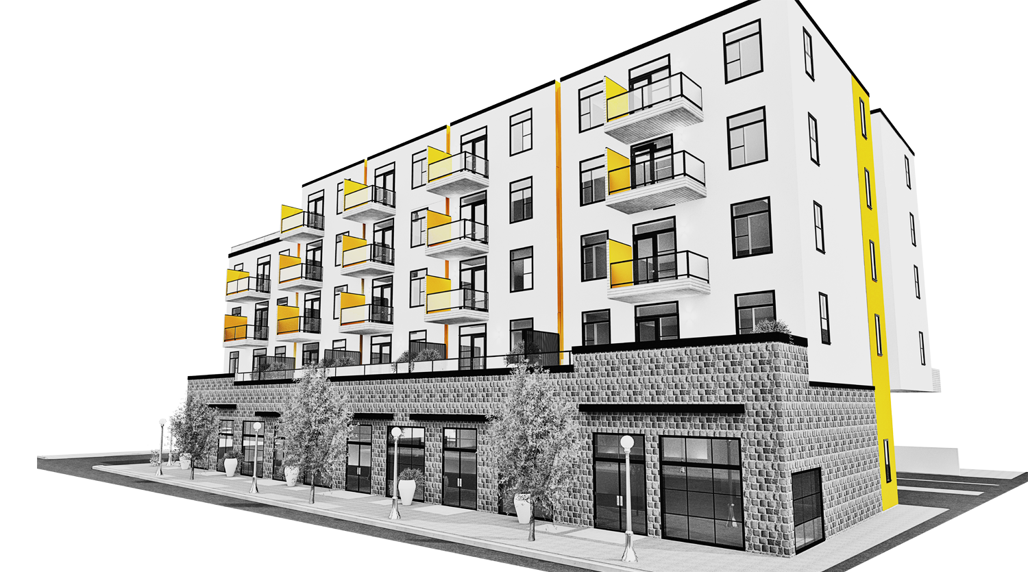 CLASS 'A' RETAIL OPPORTUNITY - InDevelopments Corp is currently seeking expressions of interest from high quality tenants to lease retail space in The Block on 4th. Preference will be given to businesses complimentary to the Mission neighbourhood and only uses compatible with the residential nature of the project will be considered.