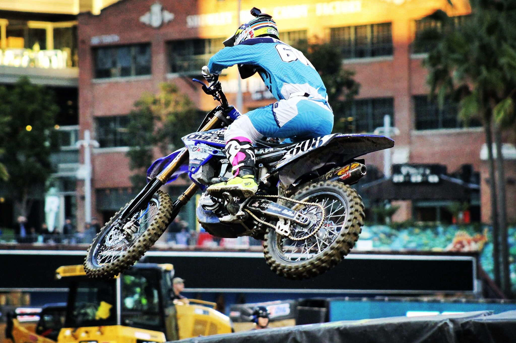 Look for Dave to put in some great results in the upcoming Monster Energy Supercross rounds