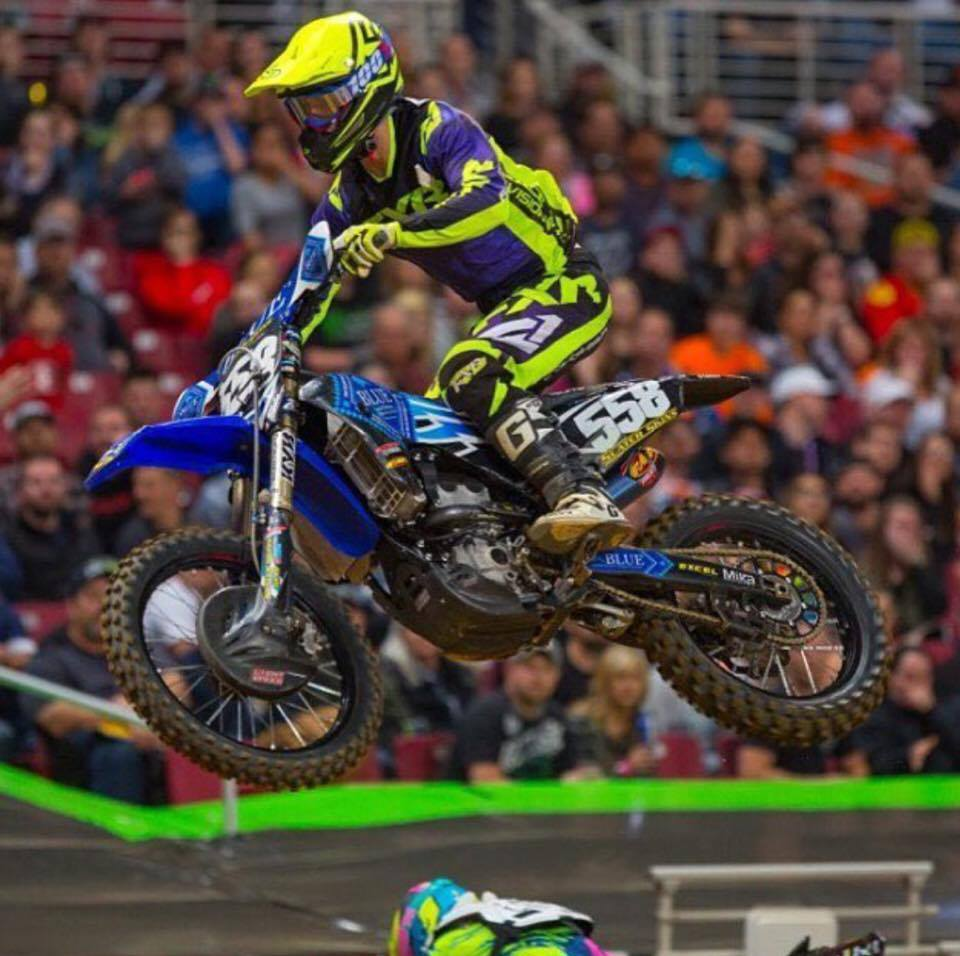 Jerry had a successful season for a rookie posting some amazing qualifying times and decent finishes in the main events. The team was very welcoming to Jerry and gave him everything he needed during the Supercross season. We can expect big things out of Jerry this year.