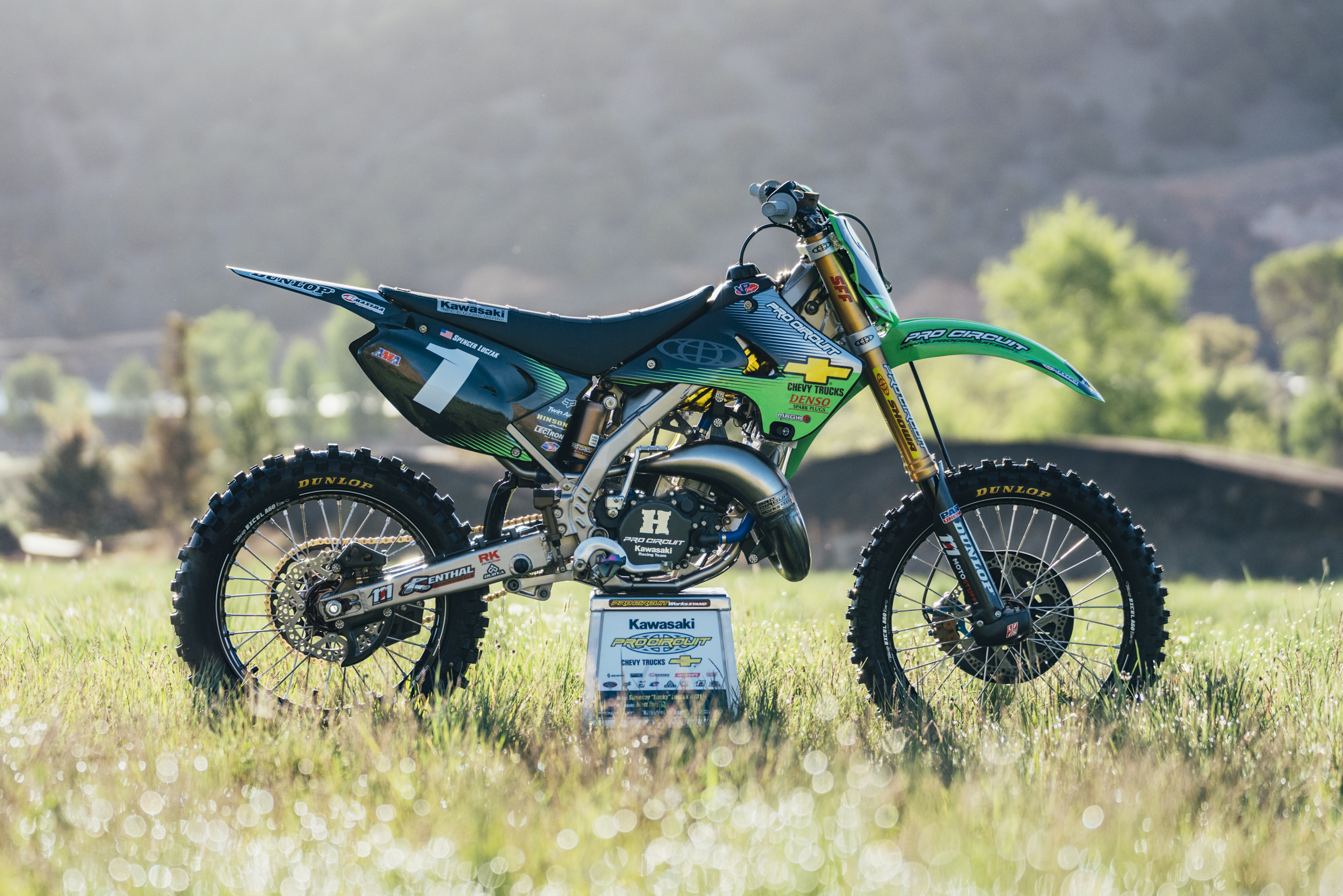 Not only does this bike look like a million dollars, but it rides like one! AJ Catanzaro couldn't believe how factory the bike felt.