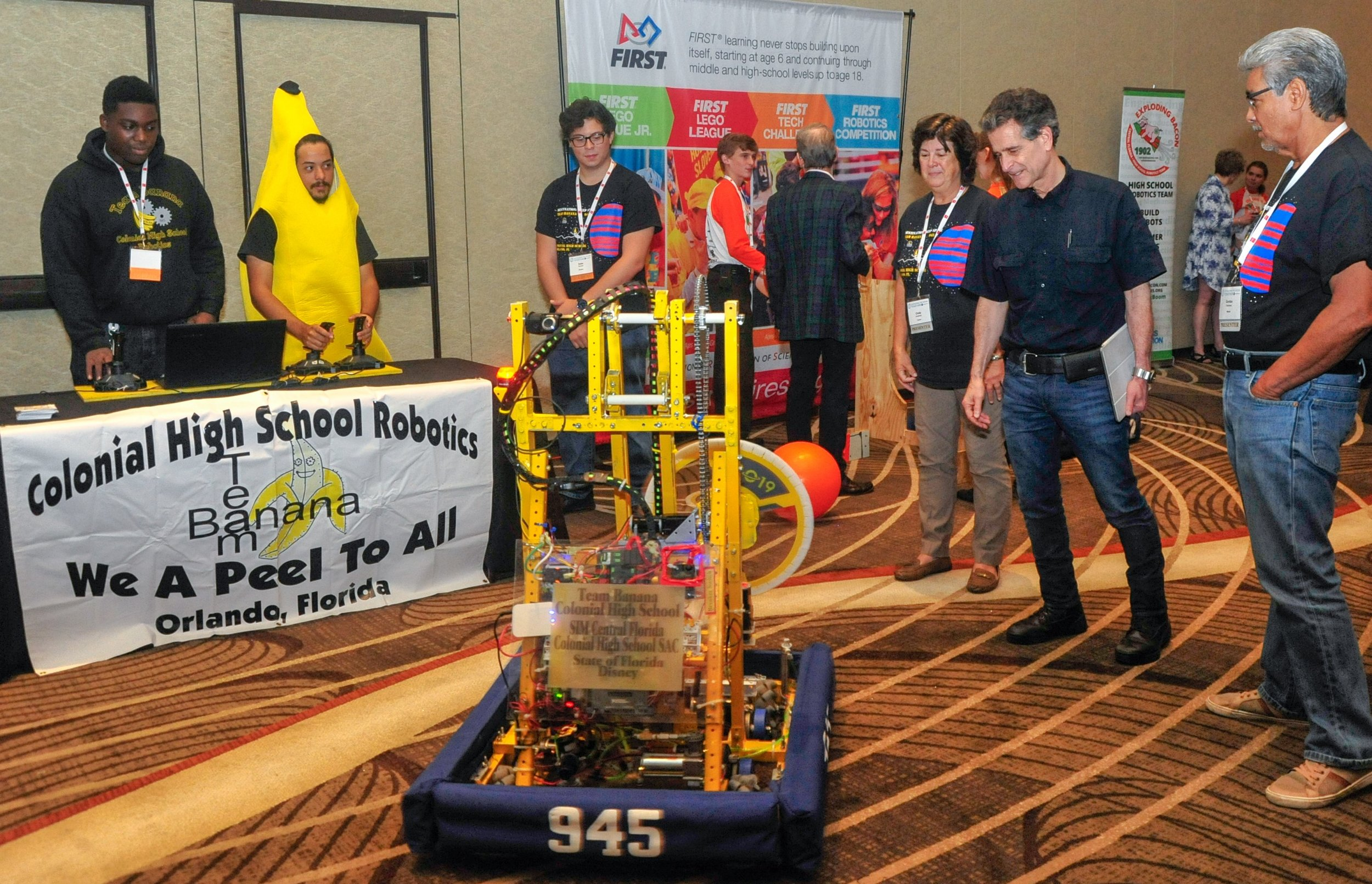 Robotics demonstrations from local high school and middle school STEM students were just some of the futuristic components of SIM Connect Live from May 15-17, 2019 in Orlando.