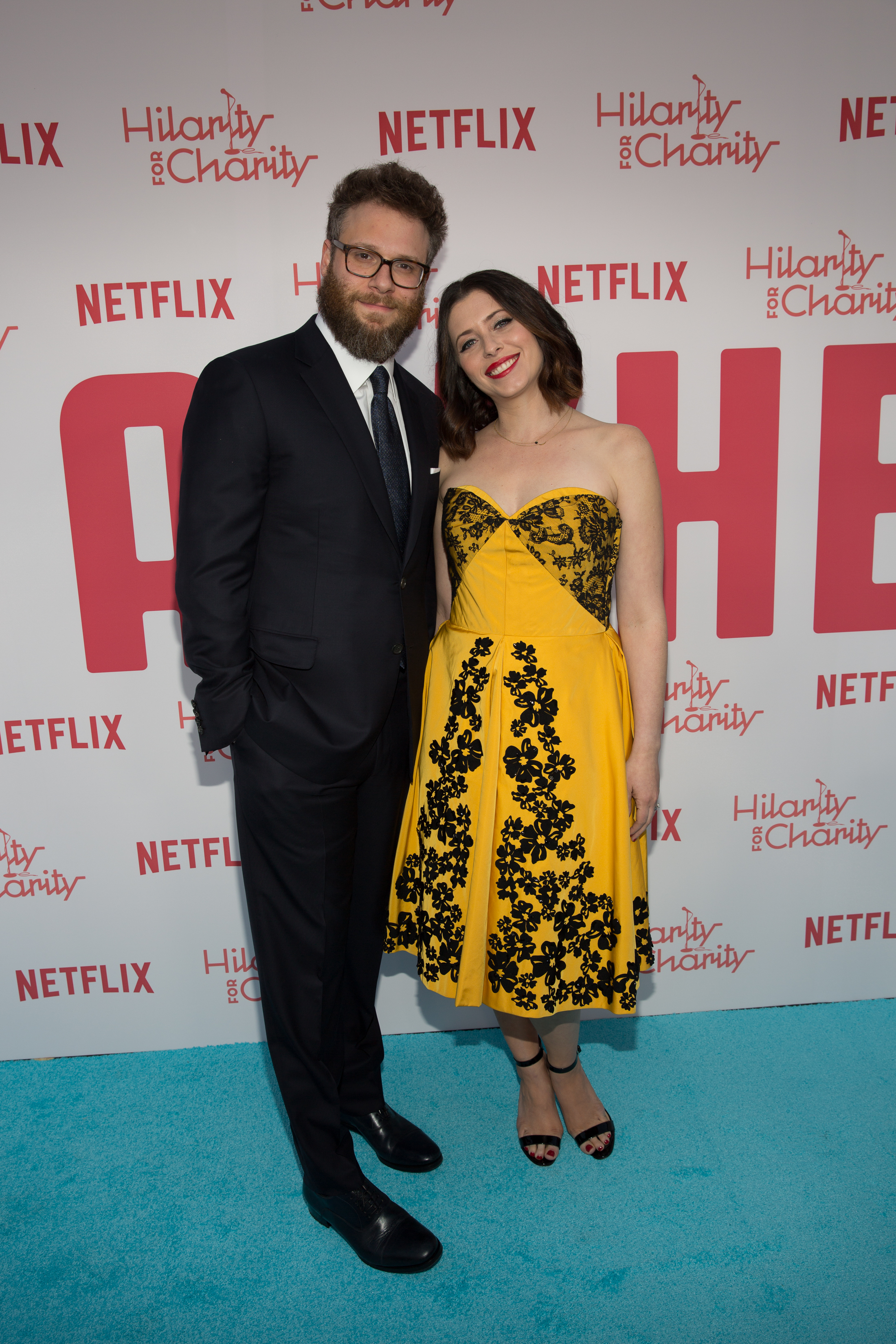 Seth and Lauren Rogen