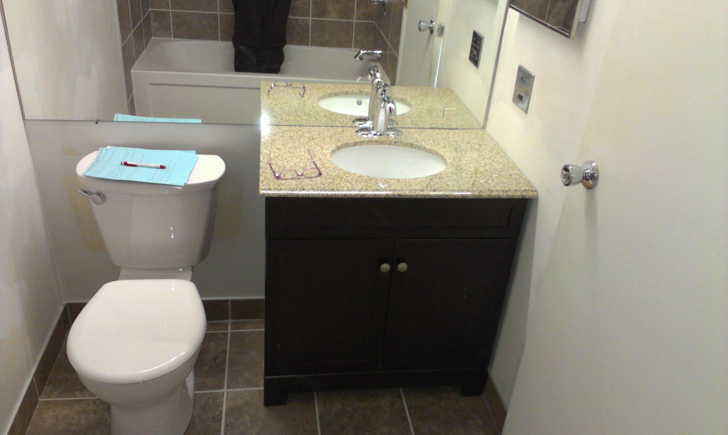 Bathroom: Two and Three Bedroom Unit